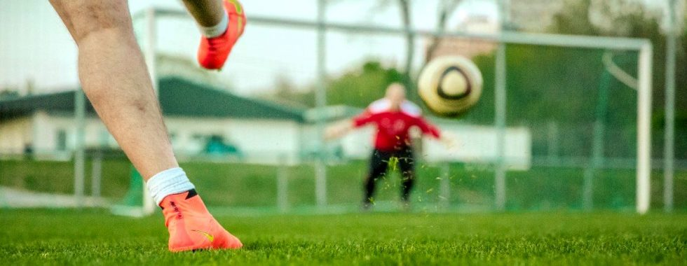 calcio tiro in porta goal